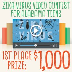 Our #Zika Virus Video Contest winners have been announced! Links to the winning videos can be found here: http://go.usa.gov/xWfrm. Thanks to everyone who participated, and congratulations to our winners!