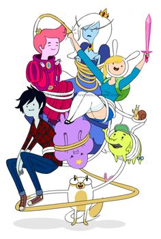 Adventure Time! Fionna and Cake!