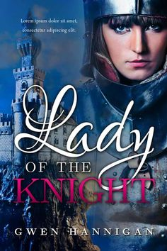 Lady Of The Knight - Fantasy Book Cover For Sale at Beetiful Book Covers