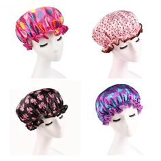 Well-Educated High Quality 100pcs Elastic Transparent One-off Shower Hair Cap Cover Bath Salon Spa Hat Hotle Bathroom Accessories Disposable Buy One Get One Free Bath