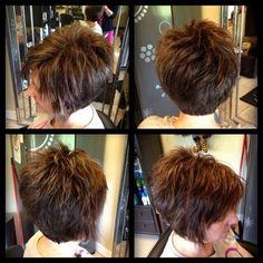 Short Hair Cuts For Women - maallure Short Brown Hair, Short Hair Cuts For Women, Medium Hair Styles, Short Hair Styles, My Hairstyle, Hair Affair, Short Bob Hairstyles, Short Stacked Haircuts, Formal Hairstyles