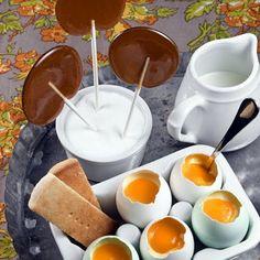 Coffee Lollipops
