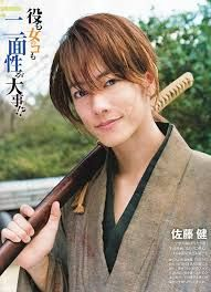 Samurai X (Sato Takeru)   Couldn´t ask for more Sato was the perfect one for this