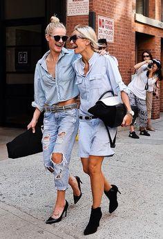 Denim BFs #jeans #denim #blue