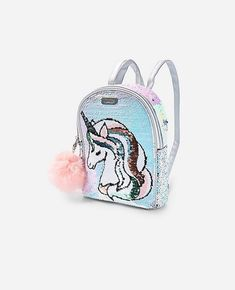 Justice is your one-stop-shop for on-trend styles in tween girls clothing & accessories. Shop our Unicorn Flip Sequin Mini Backpack. Justice Backpacks, Justice Bags, Justice Girls Clothes, Justice Clothing, Trendy Purses, Mini Backpack Purse, Girls Bags, Kids Girls, Tween Girls