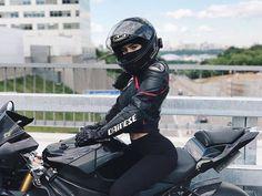 #MotorcycleHelmet #Motorcycle #Image Honda Motor Company, #Dainese Girl, Photograph, Shoei - Follow @extremegentleman for more pics like this!