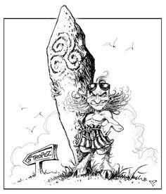 Délires et sketches de Pascal Moguérou