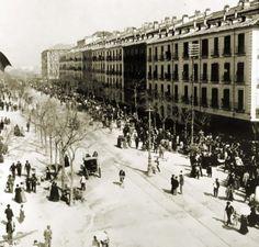 Documento visual del Barrio de Pozas de Madrid