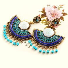 Cheap pendant earrings, Buy Quality beaded drop earrings directly from China beaded earrings Suppliers: New Design Fashion Charm Vintage Bohemian beads earrings jewelry Alloy hollow flower Pendant drop earrings for women 2015 Jewelry Gifts, Jewelry Accessories, Women Jewelry, Trendy Jewelry, Cheap Jewelry, Kids Jewelry, Jewelry Trends, Horse Jewelry, Boho Jewelry