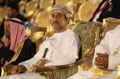 His Highness Sayyid Haitham bin Taimoor Al Said, Minister of Heritage and Culture Chairman of the Muscat Asian Beach Games Organising Committee looks on during the Closing Ceremony at Al-Musannah Sports City on day nine of the 2nd Asian Beach Games Muscat 2010 on December 16, 2010 in Muscat, Oman.