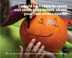 Attach to a pumpkin and/or a carving kit and you're good to go! Not too late to get those Halloween Pop-bys done :)