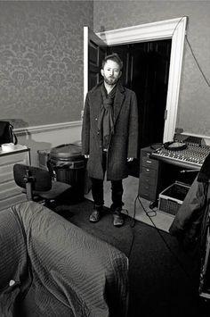 """msyorke: """" Thom Yorke, Taken during the recording of In Rainbows.© Steve Keros """""""