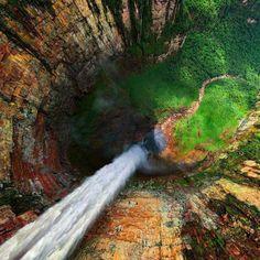 Dragon Falls, Venezuela.