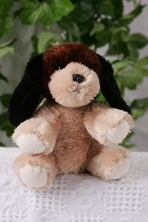 Two Tone Puppy - 8 Inch        The Kit includes:  The animal skin  Stuffing  A Wish Star Adoption certificate  Full instructions