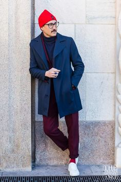 See the best street style captured at Milan Menswear Autumn/Winter 2016 collections...