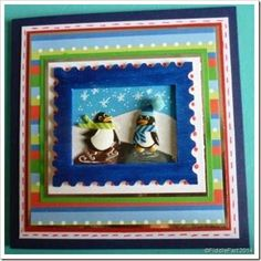Skating Penguins Christmas Card (via Bloglovin.com )