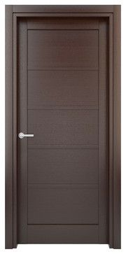 IN - STOCK WOOD INTERIOR DOOR - contemporary - Interior Doors - Miami - EVAA Home Design Center