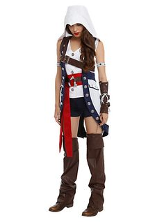 Assassin's Creed III Connor Girl CostumeAssassin's Creed III Connor Girl Costume,