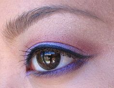 Giving you the purple eye
