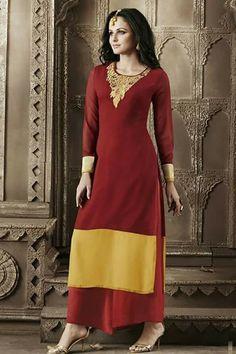 #designer #kurtis @  http://zohraa.com/red-faux-georgette-kurti-z7027pprj5488-81.html #designerkurtis #celebrity #zohraa #onlineshop #womensfashion #womenswear #bollywood #look #diva #party #shopping #online #beautiful #beauty #glam #shoppingonline #styles #stylish #model #fashionista #women #lifestyle #fashion #original #products #saynotoreplicas