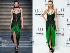Taylor Swift In Julien Macdonald – 2015 Elle Style Awards
