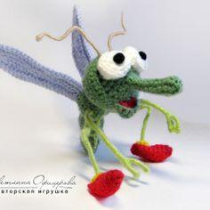 :: А мне летать охота... - Уютная мастерская Офицеровой Светланы - вязаные игрушки Crochet Animals, Crochet Toys, Amigurumi Patterns, Crochet Patterns, Pet Toys, Crochet Projects, Dangles, Mini, Projects To Try