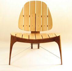Modern outdoor chair.