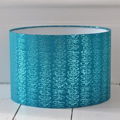 Gilded Butterfly Lampshade - Turquoise {Available in other colours or why not commission a bespoke colour}