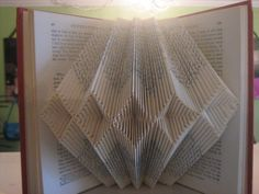 Image result for paper folding book art