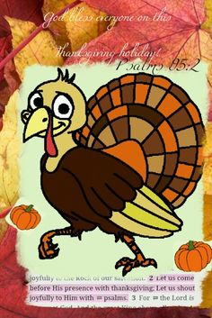 This is my Thanksgiving card for all...