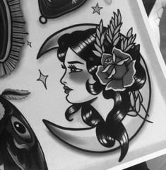 Traditional Tattoo Sketches, Traditional Tattoo Woman, Traditional Tattoo Old School, Traditional Tattoo Design, Traditional Tattoos, Traditional Tattoo Inspiration, Traditional Sleeve, Neo Traditional, American Traditional