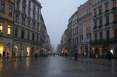 Krakow, Poland - I like it even on autumn days like this one.