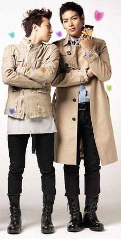 G-Dragon and T.O.P.... :)