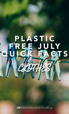 Did you know that many of our clothes are composed of polyester and polar fleece, two 'fabrics' that are completely made from synthetic fibers such as polyethylene terephthalate, a kind of plastic?