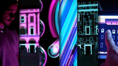 The Kernel Festival comprising electronic music, audiovisual mapping, digital and interactive art invited us to take part in its 2012 edition.  Visual Sound Building…