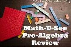 Math U See Pre-Algebra Review -
