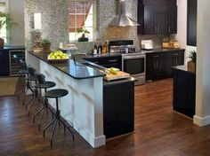 33 Kitchen Islands And Peninsulas With Dining Area Making Kitchen Design More…
