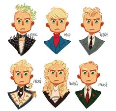 Drawing hair styles is soothing for me.