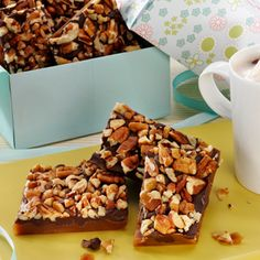 Honey Pecan Toffee #thinkfisher