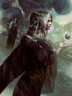 dune bene gesserit 1 by simon goinard Spectrum The Best in Contemporary Fantastic Art Concept Art World, Fantasy Concept Art, Fantasy Art, High Fantasy, Fantasy Women, Arte Sci Fi, Sci Fi Art, Science Fiction, Dune Book