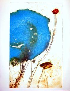 micro/macro1 - carmen berrini 2012 - punta seca, barniz, pintura metal