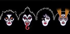 Artwork from the Rock and Roll Over album. Army Tattoos, Top Tattoos, Kiss World, 80s Rock Bands, Vintage Kiss, Kiss Art, Kiss Pictures, Greatest Rock Bands, Ace Frehley