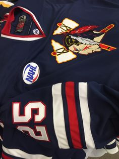 860fa14dd Johnstown Tomahawks new game jerseys. is a proud partner of the NAHL.