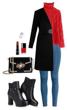 Street style by dalma-m on Polyvore featuring polyvore fashion style Louis Vuitton H&M Proenza Schouler Chanel clothing