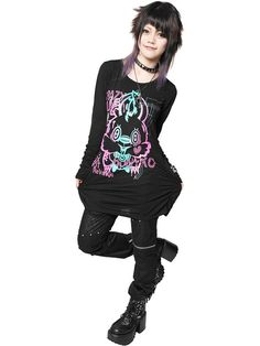 Bunny Virus Sharring Long Sleeve Cutsew / SEX POT ReVeNGE: http://www.cdjapan.co.jp/products?term.shop=apparel&term.brand_id=100000101&opt.is_group_default=1&order=new