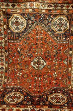 Tapis Antique GASCHGAI handrug ca:290 X210CM tappeto Tapis Teppich