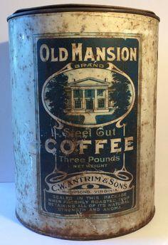 Old Mansion Steel Cut Coffee