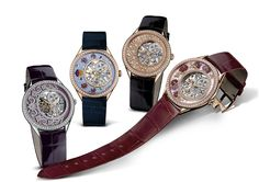 Vacheron Constantin's Métiers d'Art Fabuleux Ornements collection of limited editions blends the arts of engraving, jeweling, enameling, and skeletonization in designs that evoke Ottoman architecture, Chinese embroidery, Indian manuscripts and French lacework.