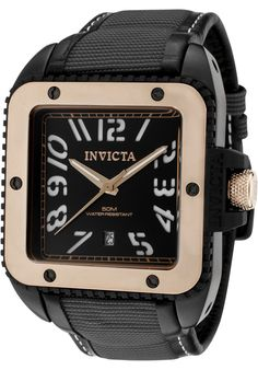 Price:$266.99 #watches Invicta 1458, Effortlessly matching any dress, this trendy Invicta, with its cool, bold design, will elegantly go with anyone's style.