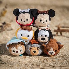 Disney Parks Frontierland Tsum Tsum Collection